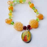 Our Lady of Guadalupe Stretch Bracelet